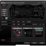 Die Software der Speedlink Virtuis Advanced Gaming Tastatur